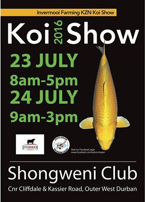 2016 kzn koi show