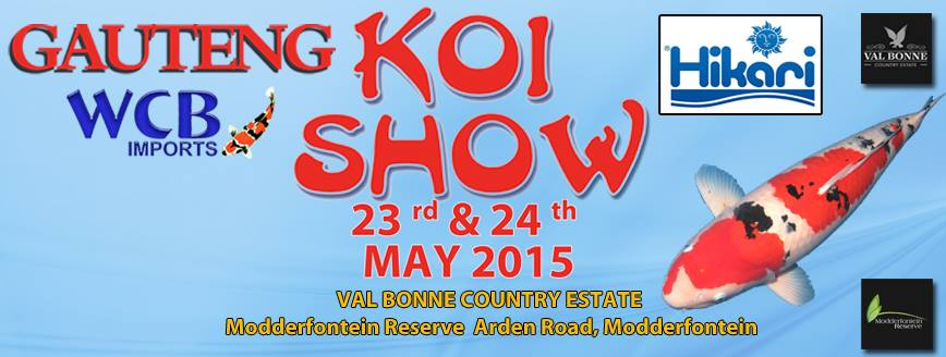 Gauteng Koi show 2015